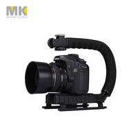 Selens DV C-shaped Camera Handheld Holder bracket U-hand Motion Stabilizer stable frame for video 5d2 DSLR SLR camera