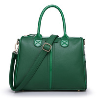 2015 Brand Women Handbags Retro Shoulder Bags Genuine Leather Bag Tote Bolsos Vintage Handbag Women Messenger Bag KC1