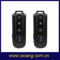 Free shipping !!! 1000M of 2pcs Bluetooth Hands free Profiles Motorcycle Helmet Bluetooth Intercom Headset with FM radio