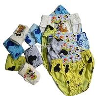Free Shipping 2Pcs/Lot Baby Boys 100%Cotton Underwear Children Kids Under Briefs