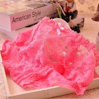 Hot Sale Sexy Lace Panties Soft Women's Underwear Fashion Floral Briefs for Female 5 Pcs/lot