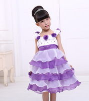 2015 new baby lovely and elegant evening dress child princess dress dinner dress free shipping