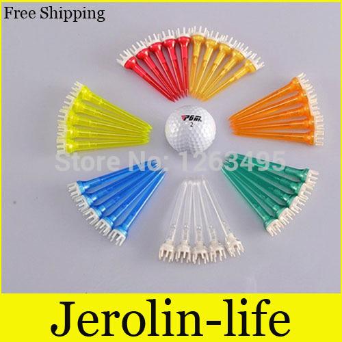 Golf Tees Ball Pin Plastic Transparent Ball Tee Ball 50MM 62MM 78MM(China (Mainland))