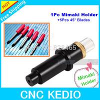 1 Blade Holder +5 pcs 45 Mimaki Blades Vinyl Cutter Plotter High Precision Tool   Free Shipping