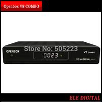 1 pc/lot china post free Openbox V8 COMBO DVB-S2+DVB-T2 HD Satellite Receiver Support IPTV WiFi DLNA GPRS 3G Youtube CCcam