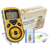 New Heal Force 100E Handheld Finger Pulse Oximeter + SpO2 Probe Digital Oximetro de dedo Blood Oxygen Saturation Health Monitors