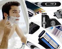 Free shipping Brand New 1 razor blades&1 razor holder Men face care holder shaving holder shaver holder of M3 for men