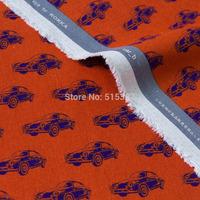 50cm*110cm DIY Patchwork Japanese KOKKA  Linen Fabric Echino By Etsuko furuya Car