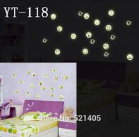 YT-118 Luminous stickers Wall stickers Switch sticker Free Shipping