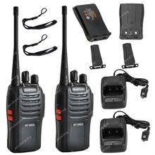 2x BAOFENG BF-666S UHF 400-470MHz 5W CTCSS DCS Two Way Radio Walkie Talkie  ON0417