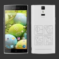 3G phone 4.8 Inch mtk6582 quad core 1gb ram 8gb rom camera 8.0 MP support multiple languages dual sim cards