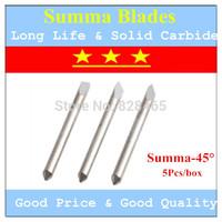 Solid carbide Cutter Blade blades for Summa  cutting plotter vinyl cutter ( 45 degree small head )