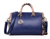 Handbag Brand Big Fashion Genuine PU Leather Bag Ladies Serpentine Tote Shoulder Bag Handbags Famous Brands Women Messenger Bags