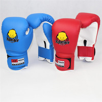 Age 5-11 Kids Children Cartoon Sparring MMA Boxing Gloves Red Training GL23938