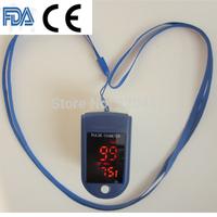 Brand NEW CE & FDA BLUE color Fingertip Pulse Oximeter Blood Oxygen SpO2 saturation oximetro monitor