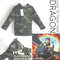 new 2015 boys children hoodies long sleeve tops Dragon fleece jacket baby clothing children outwear coats sweater