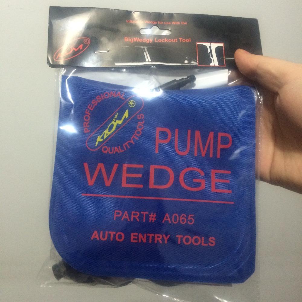 100% KLOM PUMP WEDGE Airbag 2015 New for Universal Air Wedge LOCKSMITH TOOLS .Auto Window /Door Lock Opener Medium size 15X15CM(China (Mainland))