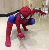 2015 NEW Spider man tights children hero performance costume spiderman costumes cosplay clothes digital printing good quality