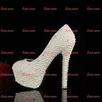 2015 Woman Custom Handmade Wedding Crystal Shoes High Quality Spring Women Fashion Femme Black And White Dress Wedding Shoes