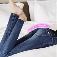 2015 autumn spring new desigual 100% cotton denim jeans for women,slim elastic woman pencil jeans,women's clothing wholesale
