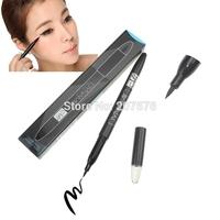 Hot Sale Makeup Facial Beauty Waterproof Deep Black Very Fine Liquid Eyeliner Pencil Cosmetics Free Shipping