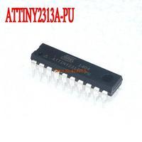 Free shipping 50PCS ATTINY2313A-PU ATTINY2313 ATMEL DIP-20