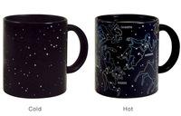 Funny Heat Sensor Color Change Mug 12 Constellation Mugs Coffee Cup