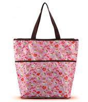 (5 Pcs/Lot) Kawaii Bokwnot Love Heart Hello Kitty Folding Women Bag  Women Shop Bag Handbag