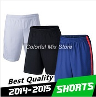 2015 DI MARIA FALCAO RONNEY Soccer Shorts Soccer jersey free Shipping Best Thai Quality 14 15 Football Shorts