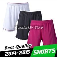 Free Shipping Real madrid Shorts 2015 Real madrid soccer Shorts White Pink Black Best Thai Quality Real madrid Football Shorts