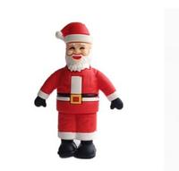 New Cartoon Christmas Gifts Santa Claus USB 2.0 Flash Drive 2GB 4GB 8GB 16GB 32GB Pen Drive Memory Stick U Disk Free Shipping