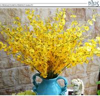 European decorative artificial flowers silk Plastic flower  orchid decorations Home Decoration