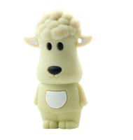 2GB 4GB 8GB 16GB 32GB USB 2.0 Flash Drive Cartoon Lamb Gifts Funny Animal Sheep USB Memory Stick Flash Pen Drive Free Shipping