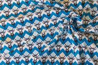 50cm*110cm Japanese  Patchwork  Quilting Cloth  Sateen Fabric  Echino By Etsuko furuya Stag   B