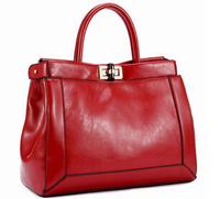 NO.1 NEW 2015 Genuine Leather Bags For Women Fashion Famous Brand Handbag Designer Women Luxury Brand Bags free shipping HN06