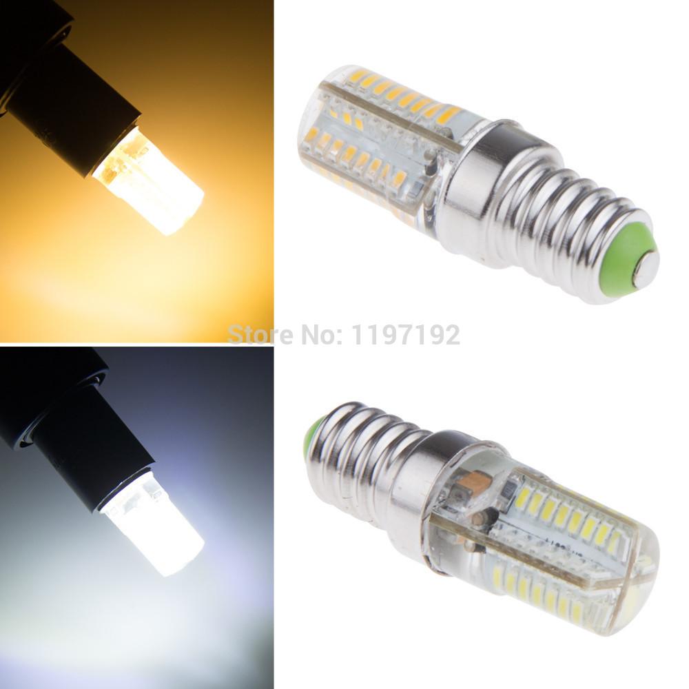 E14 3014 LED light Led lamp 220V Corn Bulbs 64LEDs Lamps 3014 SMD 11W Energy Efficient E14 led lighting new(China (Mainland))