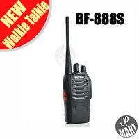 FS! BaoFeng BF-888S Walkie Talkie FM Transceiver 16CH UHF 400-470MHz Dual Band Interphone Two Way Radio Free earphone 2PCS/LOT