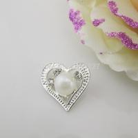 (OY434 22mm)100pcs Beautiful Ivory Pearl Rhinestone Button Shank For Wedding Dress Costume Craft