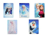 Cartoon lovely Frozen Elsa & Anna stand Sleep PU leather case cover for Samsung galaxy tab pro 8.4 T320 T325