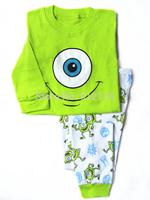 1pc retail baby boy spring 2015 mike pajamas clothes kids pajama sets minion pajamas for 2-7 years baby sleepwear