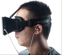 """High Quality ABS material Virtual Reality VR Mobile Phone 3D Glasses 3D Movies Games With Resin Lens For 3.5 to 5.7"""" Smartphone"""