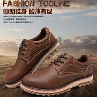 Camel Active Men genuine leather shoes, men's casual shoes,outdoor sports shoes