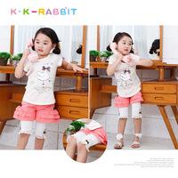 France kk rabbit children's leggings wholesale girls leggings SL1267