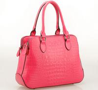 NO.1 2015 Genuine Leather Bags For Women Fashion Designer Famous Brand Handbag Crocodile Leather Women Brand Bag Free Ship HN08