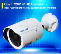 Sno IP Camera 720P Outdoor Waterproof IP66 Network 1.0MP Mini HD CCTV Security Audio video Surveillance Camera Free Power Supply