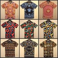 Unisex  casual T-shirt for men women denim  holdem giv chy  design tshirt short-sleeve o-neck t shirt camisetas masculinas