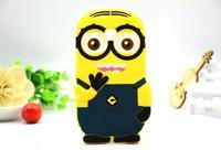 For Samsung Galaxy Core Plus G3500 Trend 3 G3502 Cute Cartoon Soft Silicon Rubber Back Cover Despicable Me Case FA014
