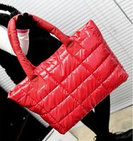 Hot sale Waterproof shoulder bag space bag down bag handbag street casual tote