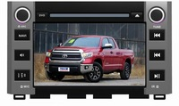 Free shipping+Gift map!!Toyota Tundra 2014 Car DVD GPS with Stereo Head unit Navigation Bluetooth Radio CAN-BUS