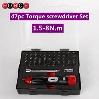 FORCE preset type torque screwdriver 1.5-8 Nm  torque wrench torque screwdriver slippage type